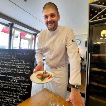 Chef Emile Cotte